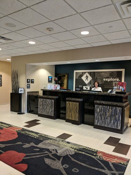 Reception | Hampton Inn & Suites Tulsa/Tulsa Hills