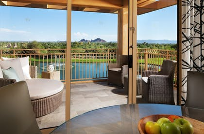 Terrace/Patio | The Canyon Suites at The Phoenician, Luxury Collection