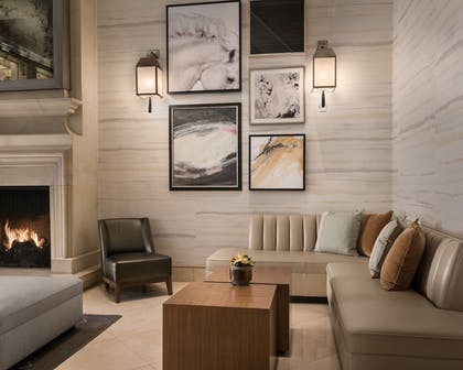 Lobby Sitting Area | The Canyon Suites at The Phoenician, Luxury Collection