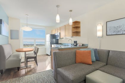 Living Area | HYATT house Denver Airport