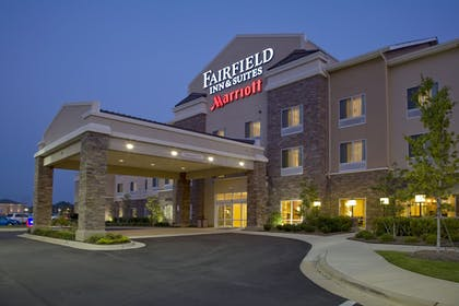 Hotel Front - Evening/Night | Fairfield Inn & Suites by Marriott Montgomery EastChase Pkwy