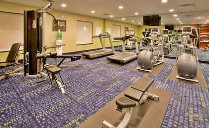 Fitness Facility | Holiday Inn Express Hotel & Suites St. Robert
