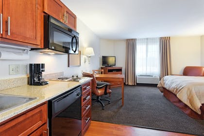 In-Room Kitchen   Candlewood Suites Cape Girardeau