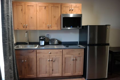 In-Room Kitchen | Sitka Hotel and Restaurant