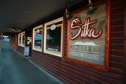 Hotel Entrance | Sitka Hotel and Restaurant