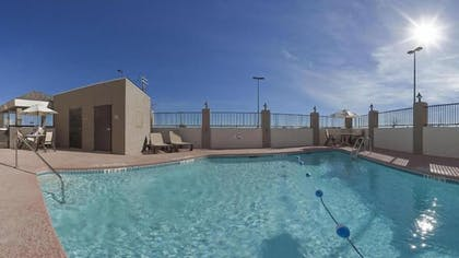 Outdoor Pool | Candlewood Suites Ft Stockton