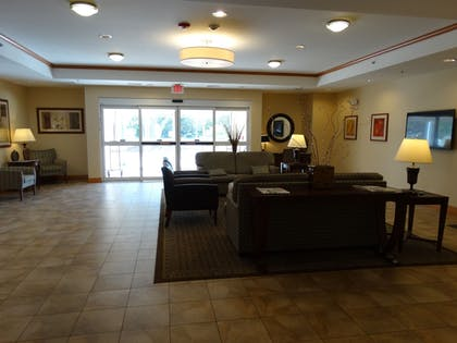 Lobby Sitting Area   Candlewood Suites Slidell Northshore