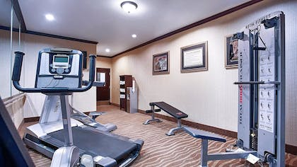 Fitness Facility   Best Western Plus Royal Mountain Inn & Suites