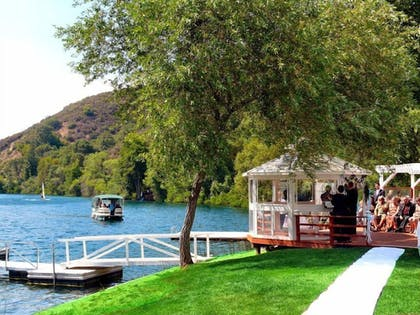 Outdoor Wedding Area | The Lodge At Blue Lakes