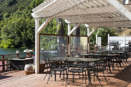 Terrace/Patio | The Lodge At Blue Lakes