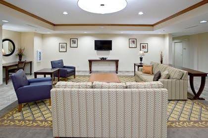 Lobby Sitting Area | Candlewood Suites Radcliff - Fort Knox