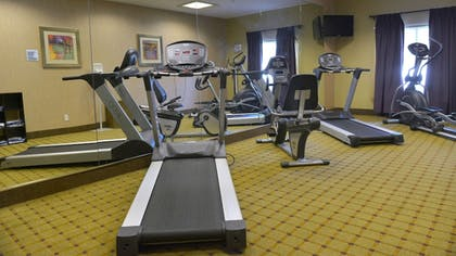 Fitness Facility | Holiday Inn Express Hotel & Suites Baton Rouge North