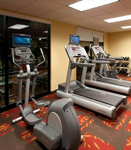Fitness Facility | Courtyard by Marriott Alexandria