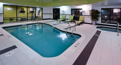 Indoor Pool | Fairfield Inn & Suites by Marriott Charlotte Matthews