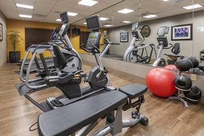 Fitness Facility | Holiday Inn Express Hotel & Suites Hays