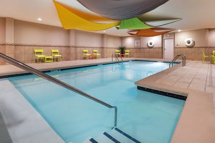Pool | Holiday Inn Express Hotel & Suites Hays