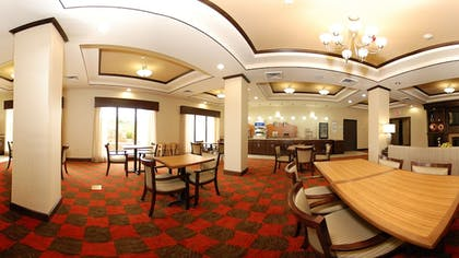 Breakfast Area | Holiday Inn Express & Suites Houston South near Pearland