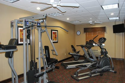 Fitness Facility | Holiday Inn Express & Suites Houston South near Pearland
