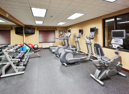 Fitness Facility | Holiday Inn Express Hotel & Suites Great Falls