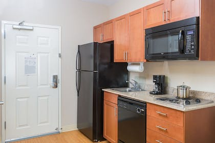 In-Room Kitchen | Candlewood Suites Apex Raleigh Area