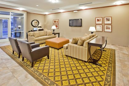 Lobby Sitting Area | Candlewood Suites Apex Raleigh Area
