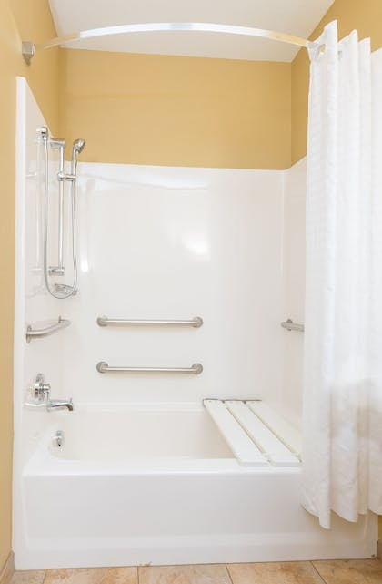 Bathroom | Candlewood Suites Apex Raleigh Area