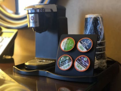Coffee and/or Coffee Maker | Cherokee Casino & Hotel West Siloam Springs