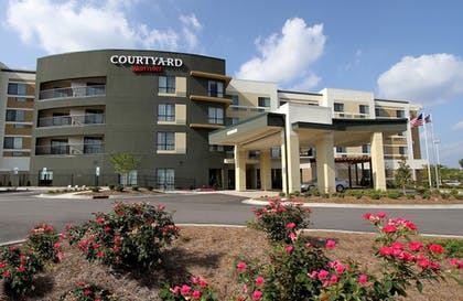Hotel Front | Courtyard by Marriott Raleigh North/Triangle Town Center