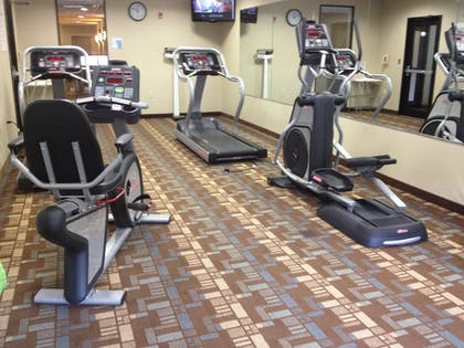 Fitness Facility | Holiday Inn Express & Suites Bridgeport