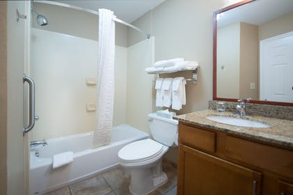Bathroom | Candlewood Suites WAKE FOREST RALEIGH AREA