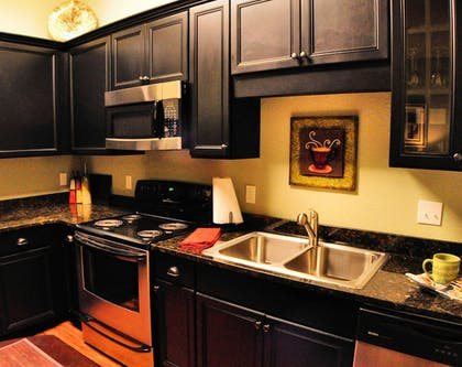 In-Room Kitchen | 30-A Suites