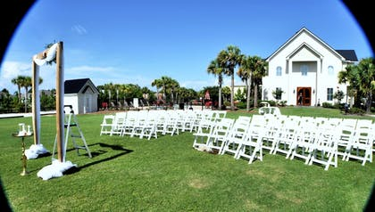 Outdoor Wedding Area | 30-A Suites