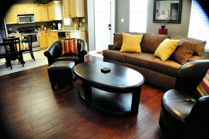 Living Area | 30-A Suites