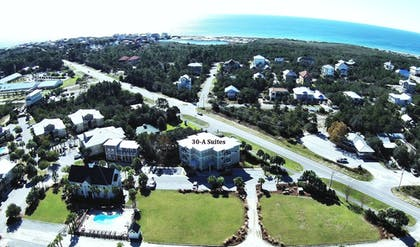 Aerial View   30-A Suites