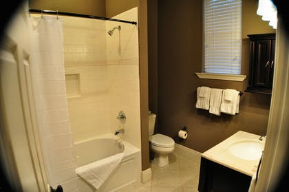 Bathroom | 30-A Suites