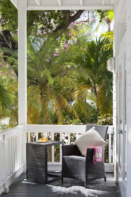 Terrace/Patio | Paradise Inn Key West-Adults Only