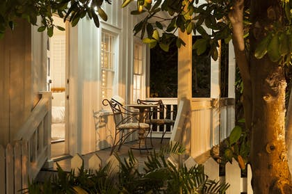 Porch | Paradise Inn Key West-Adults Only