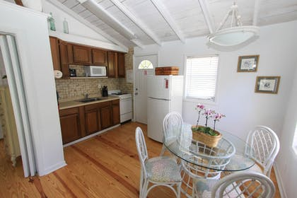 In-Room Kitchen | Gulf Breeze Cottages