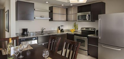 In-Room Kitchen | South Beach Biloxi Hotel & Suites