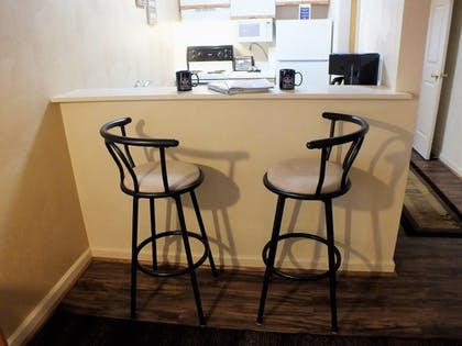 In-Room Kitchenette | Affordable Corporate Suites of Waynesboro