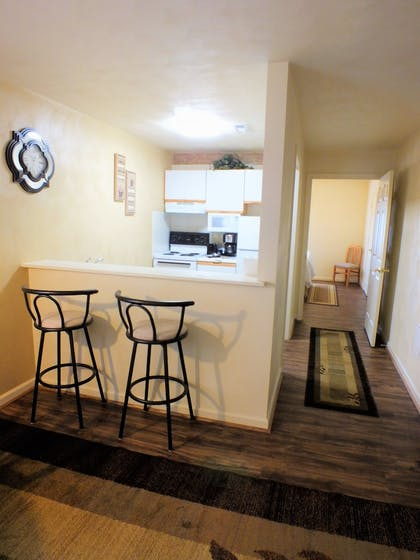 In-Room Kitchen | Affordable Corporate Suites of Waynesboro