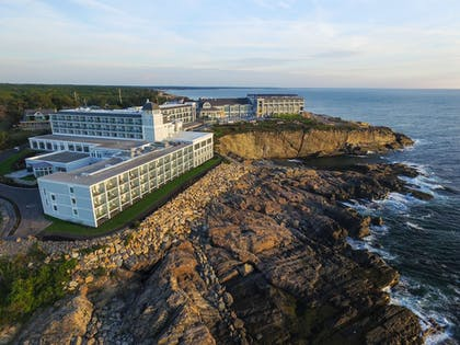 Aerial View | Cliff House Maine