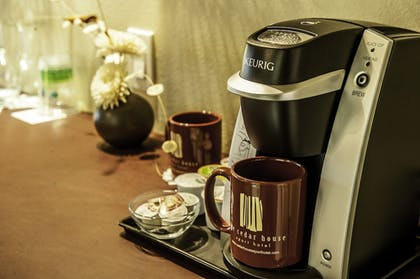 Coffee and/or Coffee Maker | The Cedar House Sport Hotel
