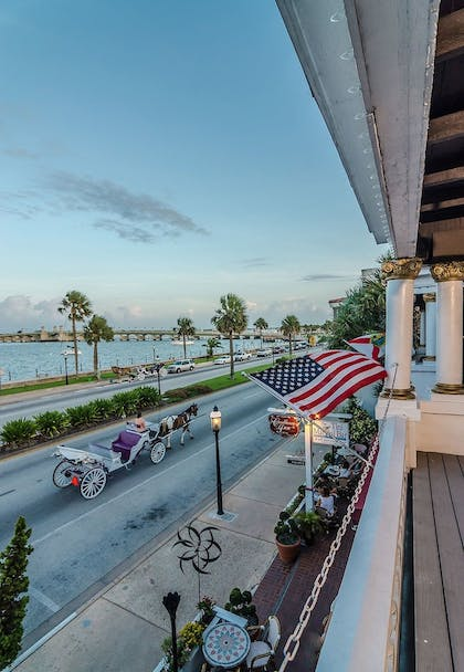 View from Property | Casablanca Inn on the Bay