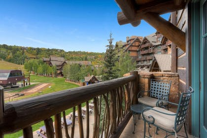 Balcony View | Private Residences inside the Ritz Carlton Bachelor Gulch