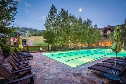 Outdoor Pool | Private Residences inside the Ritz Carlton Bachelor Gulch