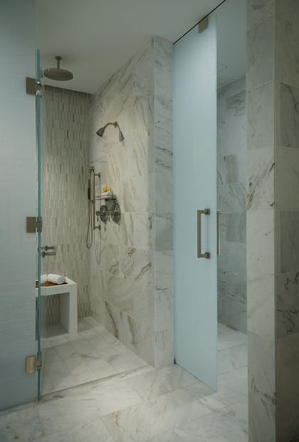 Bathroom Shower | The Oasis Tower at Seminole Hard Rock