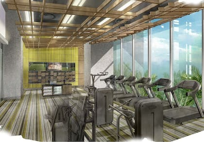 Gym | The Oasis Tower at Seminole Hard Rock