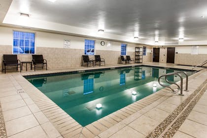 Indoor Pool | Evangeline Downs Hotel, an Ascend Hotel Collection Member