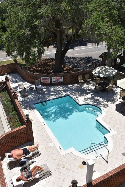 Pool | The Inlet Sports Lodge